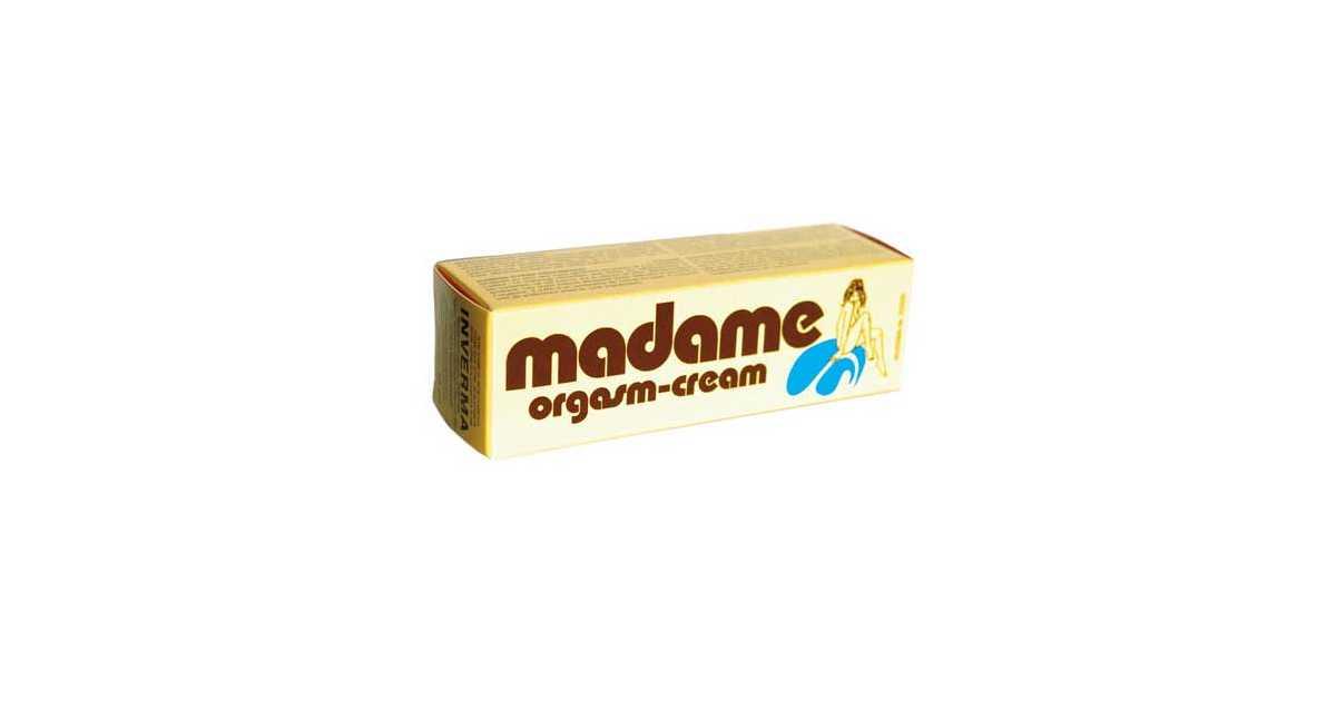 Madame orgasm cream contranatura